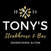 Tony's Restaurant in Alton, IL Logo
